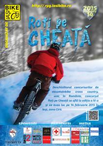 Roți pe Gheață 2015 - ediția a IV-a, Iași, Ciric